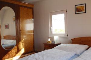 Haus Ditze Ferienwohnung Schlafzimmer